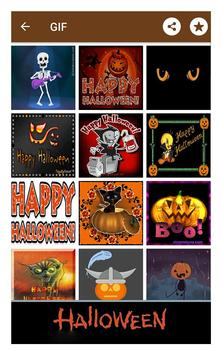 Happy halloween gif stickers sms and wallpapers screenshot 22