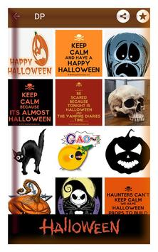 Happy halloween gif stickers sms and wallpapers screenshot 3