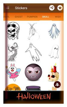 Happy halloween gif stickers sms and wallpapers screenshot 4
