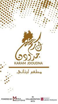 Karam Jdoudna poster