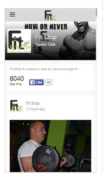Fit Stop screenshot 1