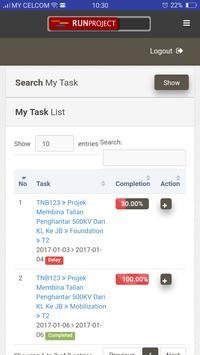 RunProject apk screenshot