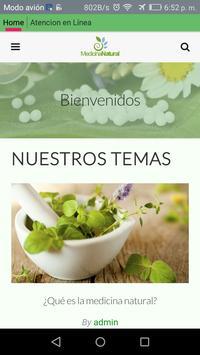 Medicina Natural poster