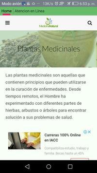 Medicina Natural apk screenshot
