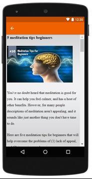 Meditation for Beginners screenshot 5
