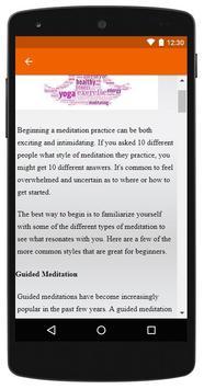 Meditation for Beginners screenshot 3
