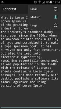 Text Editor screenshot 4