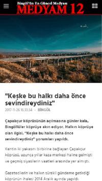 Bingöl Medya - Medyam12 screenshot 1