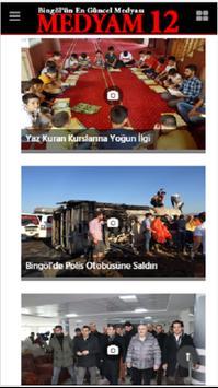 Bingöl Medya - Medyam12 screenshot 2