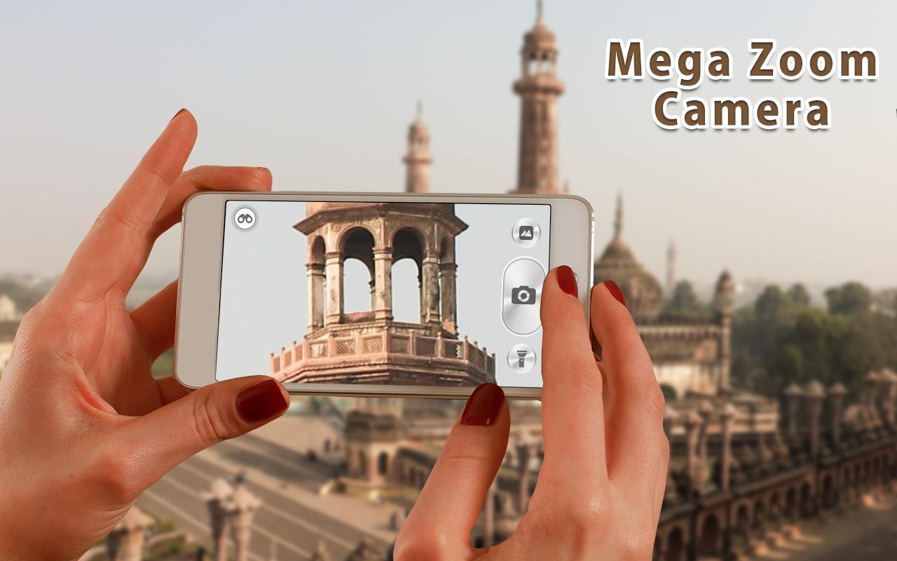 Zoom Camera & High Resolution HD Camera, Mega Zoom for