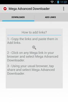 Advanced Downloader for Mega screenshot 3