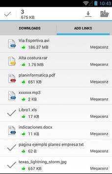 Advanced Downloader for Mega screenshot 2