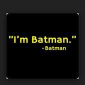 """I'm Batman"" icon"