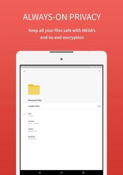 MEGA apk تصوير الشاشة