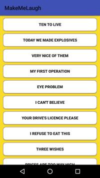 Make Me Laugh apk screenshot