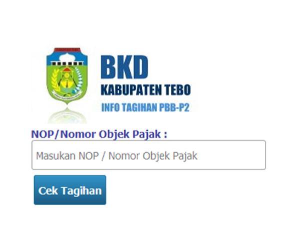 Informasi Tagihan Pbb P2 Kabupaten Tebo For Android Apk Download