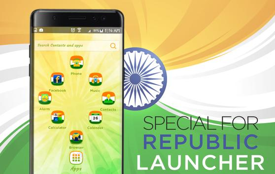 India Republic day Theme - India Republic Launcher screenshot 2