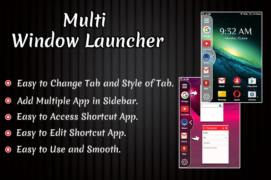Multi Window Launcher : Split Screen Theme for Android - APK