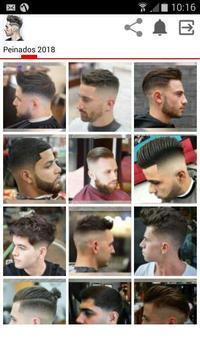 Mejores peinados hombre 2018 poster