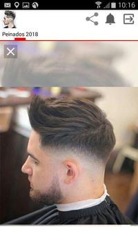 Mejores peinados hombre 2018 screenshot 1