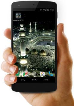 Mekka Hajj 3D Video Wallpaper poster
