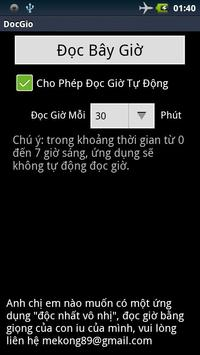 Đọc Giờ Tiếng Việt poster