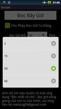 Đọc Giờ Tiếng Việt apk screenshot