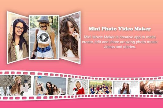 Mini Movie Photo Video Maker : Film Maker screenshot 2