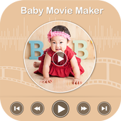 Baby Photo Video Maker With Music icon