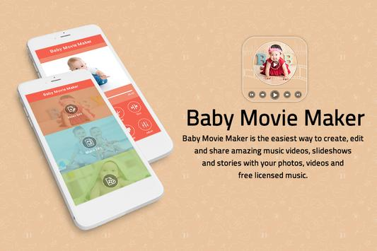 Baby Photo Video Maker With Music poster