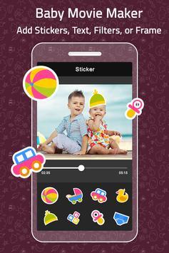 Baby Photo Video Maker With Music apk screenshot