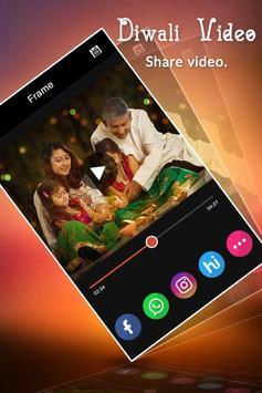 Diwali Photo Video Maker with Music apk screenshot