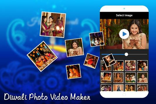 Diwali Photo Video Maker with Music poster