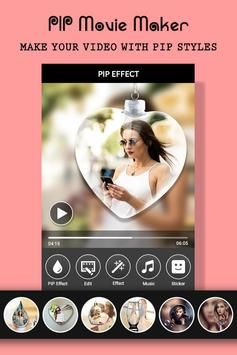 PIP Camera Photo Video Maker With Music screenshot 1