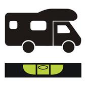 Camper - leveler icon