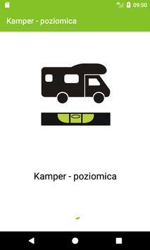 Camper - leveler poster