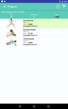 Pregnancy exercises screenshot 9