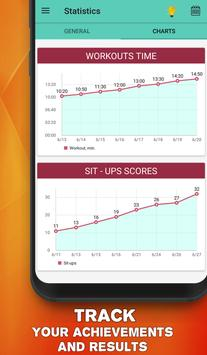 Perfect abs workout - waistline tracker syot layar 3