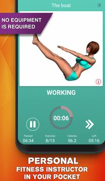 Perfect abs workout - waistline tracker syot layar 2