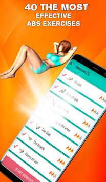 Perfect abs workout - waistline tracker syot layar 4