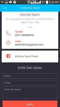 Sahabat al-zahratour screenshot 4