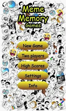 Meme Memory Games poster