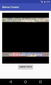 Meme Creator screenshot 1