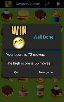 Memory Game for Kids - Free apk screenshot
