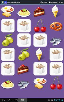 Kids Memory Game - Educational poster