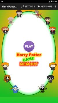 Harry Potter Memory Game poster