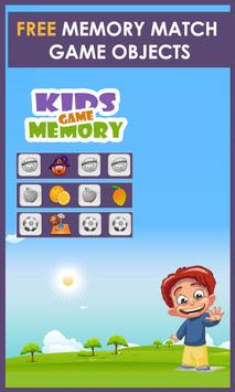 Memory Game for Kids poster