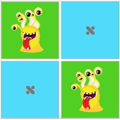 Animals memory game for KID icon