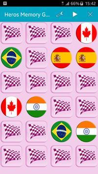Heroes Memory - quiz game apk screenshot