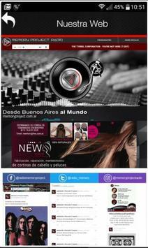 Memory Project Radio apk screenshot